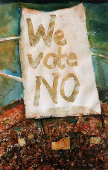 We vote NO!
